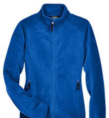 fleece jacket blue