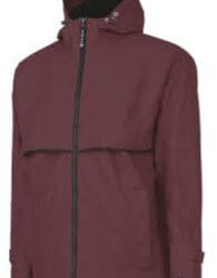 mens raincoat reddish brown
